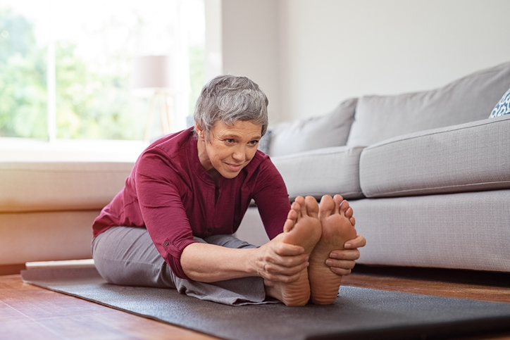 healthy senior feet - best st. louis home care agency