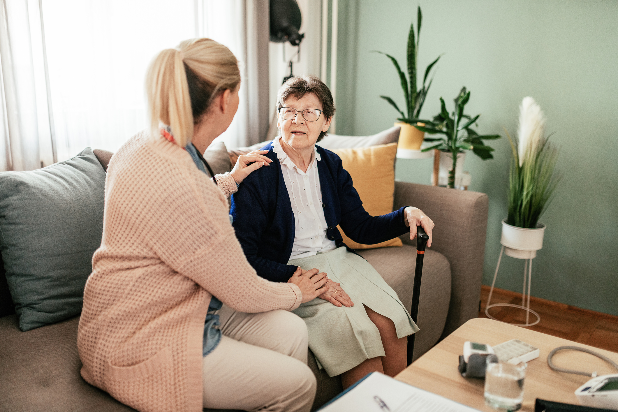 Compassionate Nursing Services, a provider of elder care in St. Louis & nearby areas, is here to help seniors successfully manage long-term medical conditions.