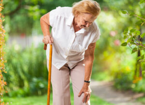 Joint stiffness from osteoarthritis can makes seniors unstable and at an increased risk for falls.
